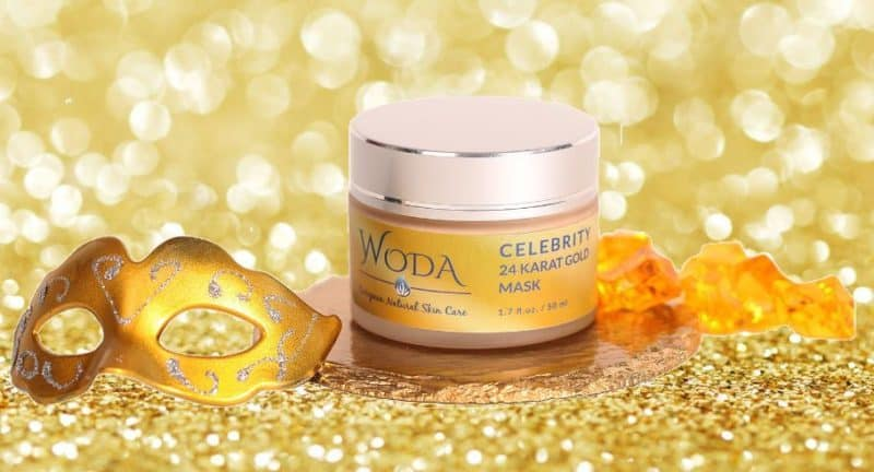 Infused with 24 karat Gold Celebrity Mask