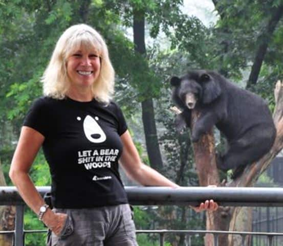 Animals Asia founder and CEO Jill Robinson