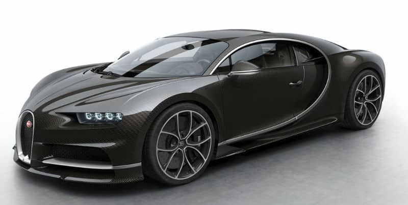 Dream Cars: Bugatti Chiron 2017