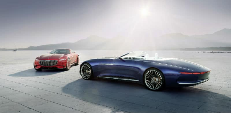 Dream Cars: Mercedes Maybach 6