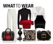 Red, Black, and White Style