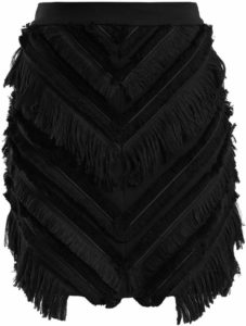 Balmain Fringe Skirt. BUY NOW!!!