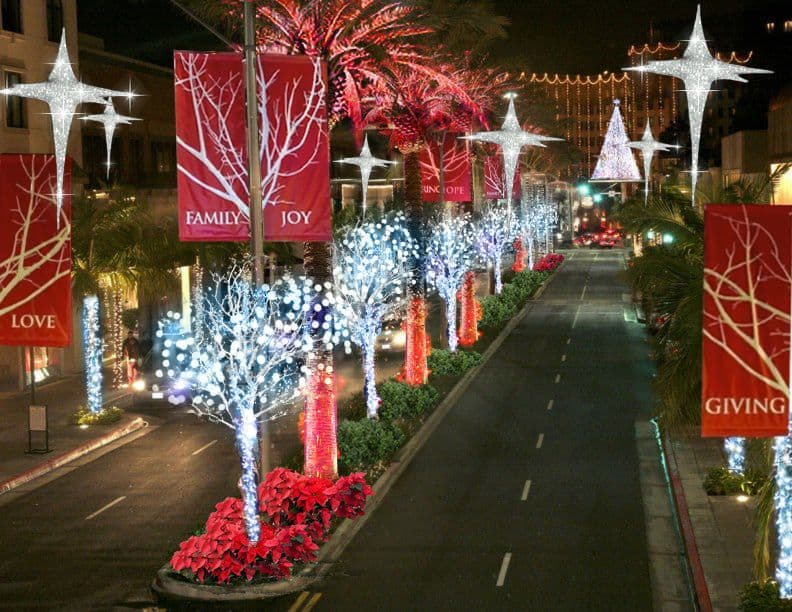 Beverly Hills Holiday Lighting Ceremony