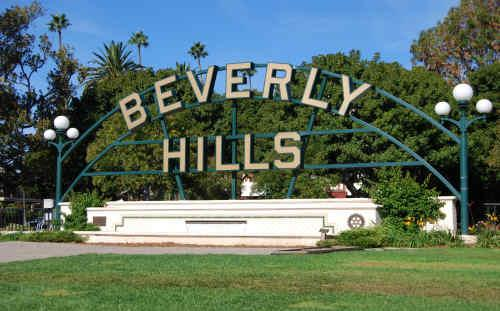 Beverly Hills Gardens Park Lily Pond