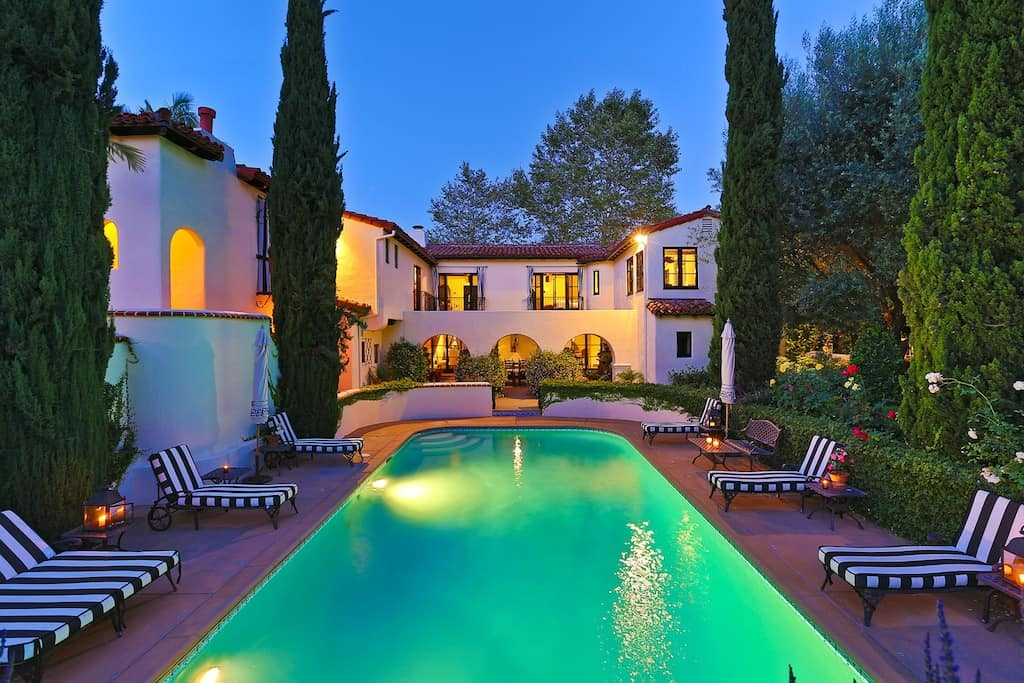 Sold celebrity homes beverly hills magazine for Shome home