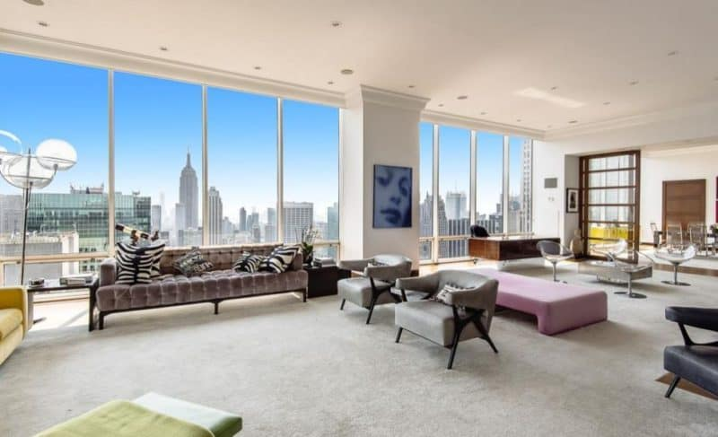Gucci new york penthouse beverly hills magazine for New york luxury homes