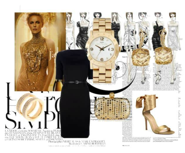 #Celebrity Style of Gold. SHOP NOW!!! #beverlyhills #beverlyhillsmagazine #shop #shopping #shopstyle #charlizetheron