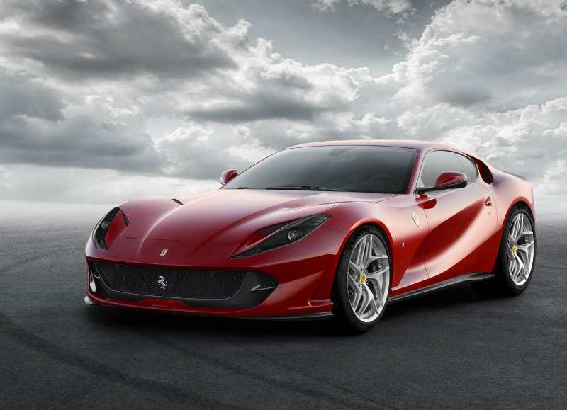 dream cars ferrari superfast 812 beverly hills magazine. Black Bedroom Furniture Sets. Home Design Ideas