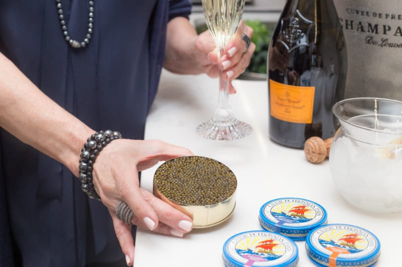 Caviar and Champagne? Yes, Please!