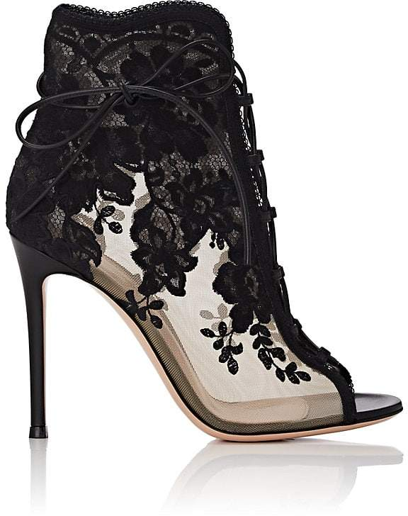 Gianvito Rossi Lace Ankle Boots. BUY NOW!!!