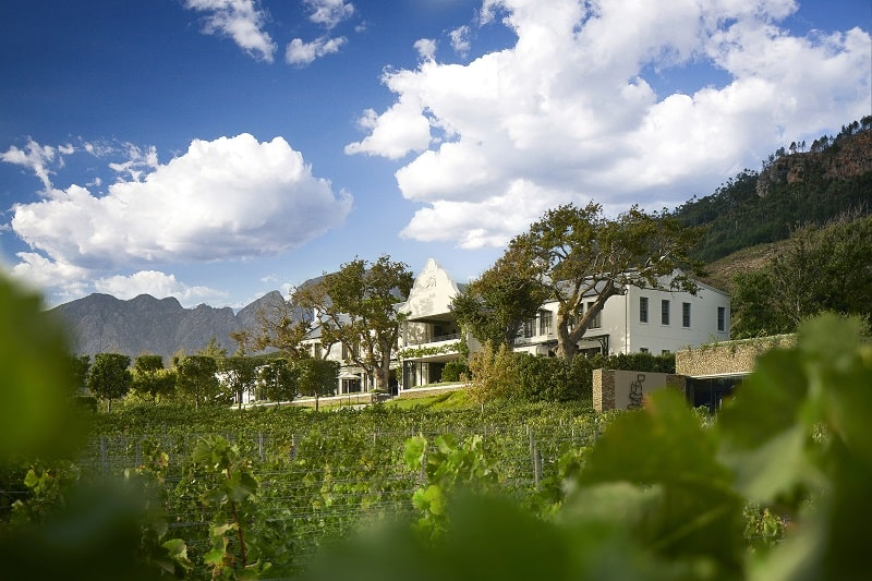 Travel To Leeu House in Franschhoek, South Africa