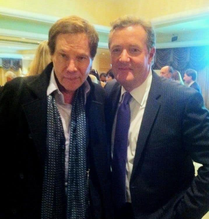 Mark B. Barron and Piers Morgan at Gun Safety Event in Beverly Hills