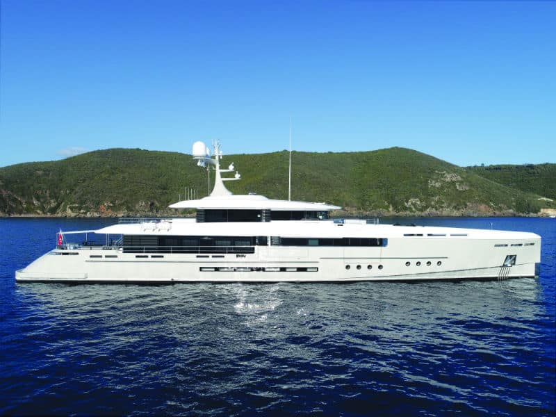 Luxury Mega Yacht ENDEAVOUR 2
