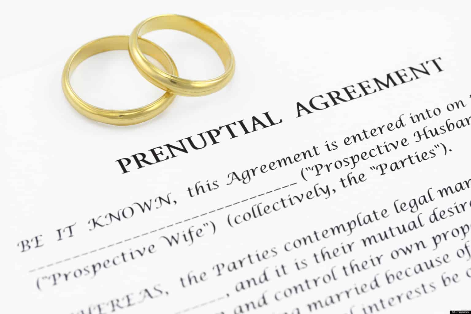 Prenup for the Wealthy