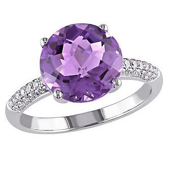 Amethyst White Gold Ring. BUY NOW!!!