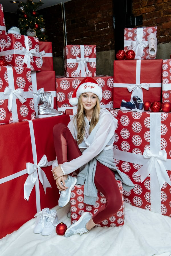 Gigi Hadid and Reebok Bid Farewell to 2017