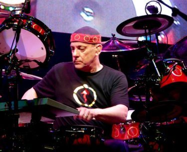 Neil Peart from RUSH