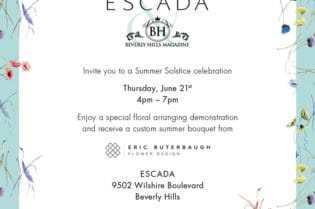 YOU'RE INVITED!!! June 21st #Summer Solstice in #Beverlyhills #fashion #style #party #escada #beverlyhillsmagaizne #bevhillsmag #shopstyle