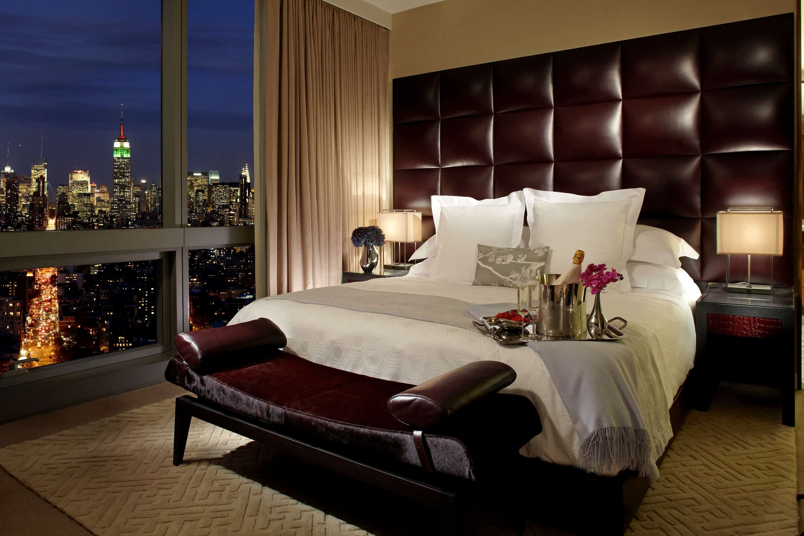 Trump soho hotel penthouses in new york city beverly for Bedroom designs new york