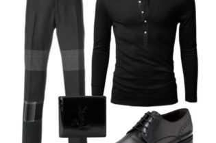 Black & Gray Style For Men
