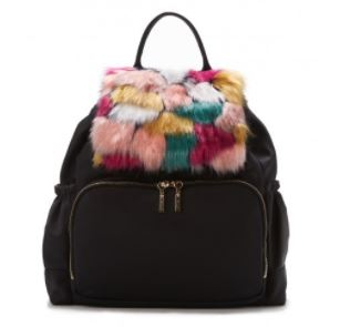 Milly Multi-Color Faux Fur Backpack. BUY NOW!!!