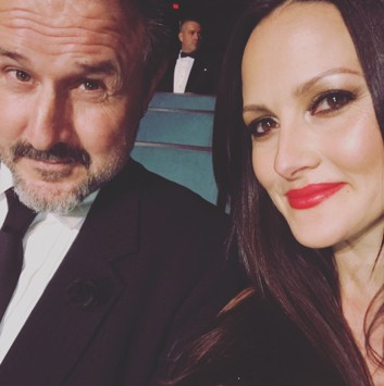 David Arquette and Wife
