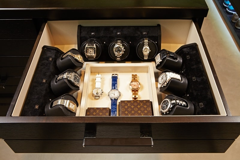 Watch Collection Display Cabinet