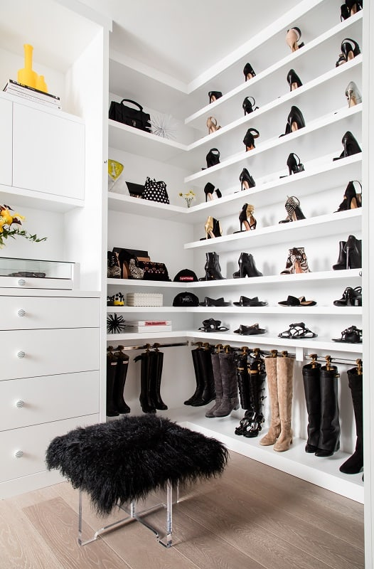 Tyra Banks' Closet (Photo by Erik Asla)