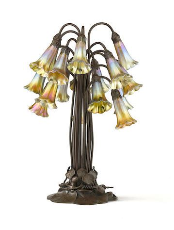 Tiffany Lamps at Bonhams Auction