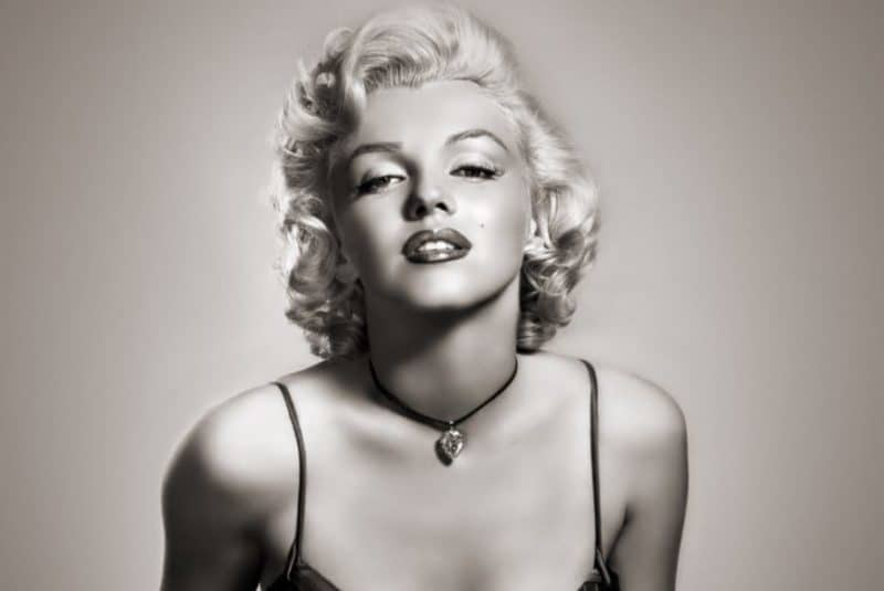 The Lovely Marilyn Monroe