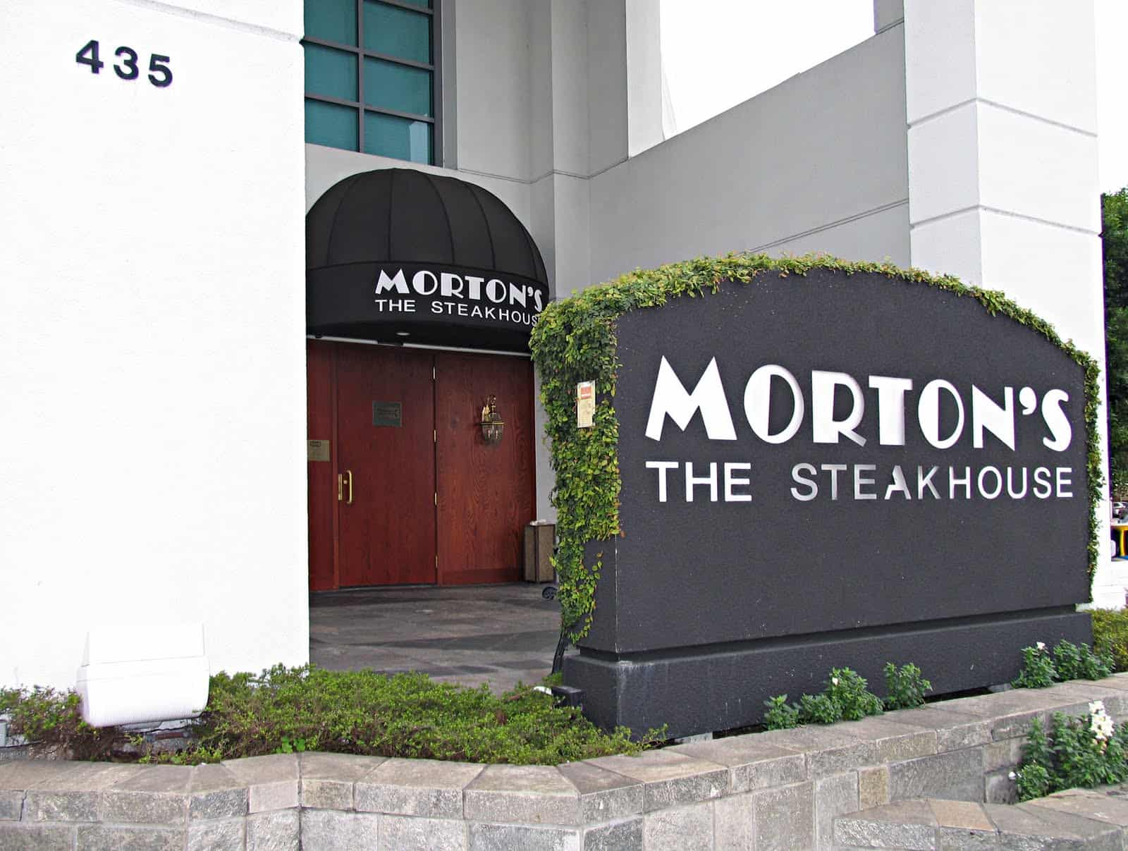 Mortonu0027s Steakhouse Beverly Hills