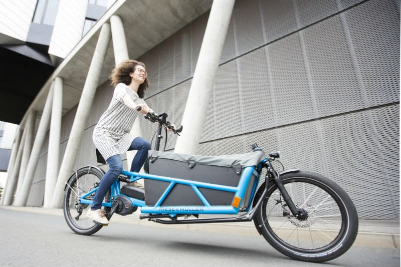 The ultimate German engineered E-Cargo bike