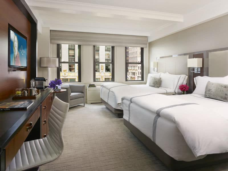 The Quin-tessential Luxury Hotel in NYC