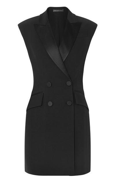 Alexander McQueen Tuxedo Mini Dress. BUY NOW!!! #shop #fashion #style #shop #shopping #clothing #beverlyhills #dress #dresses #alexandermcqueen #beverlyhillsmagazine #bevhillsmag