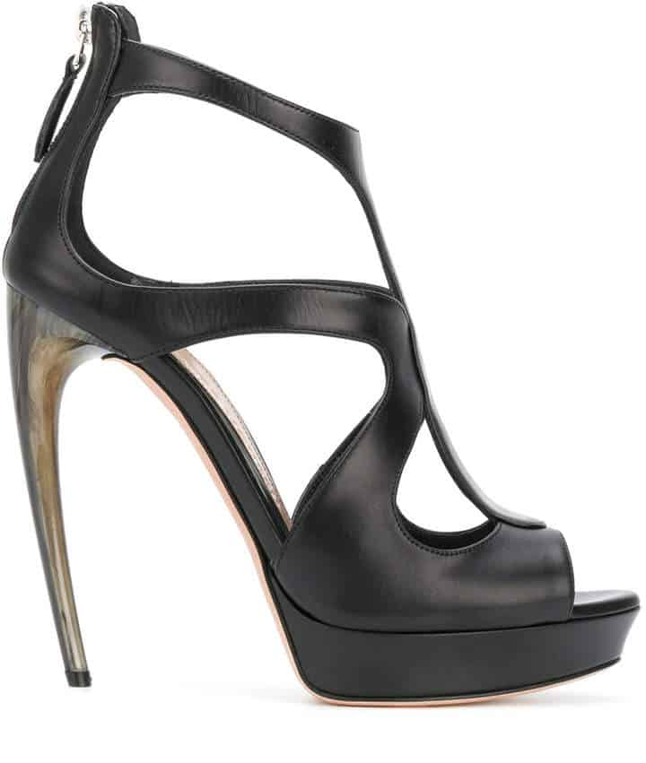 Alexander McQueen High Heels. BUY NOW!!! #beverlyhillsmagazine #bevhillsmag #shop #style #shopping #fashion