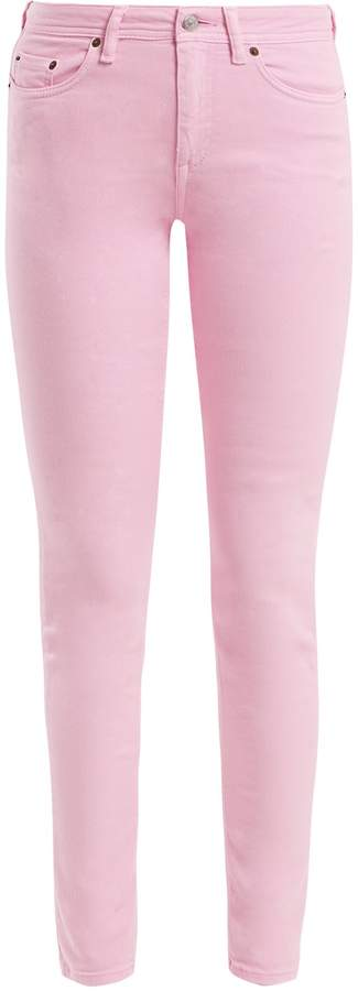 Candy-Pink Stretch Jeans. BUY NOW!!! #BevHillsMag #beverlyhillsmagazine #fashion #style #shopping