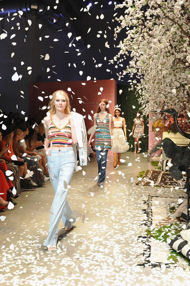 Fashion Show By Alice Olivia Beverly Hills Magazine