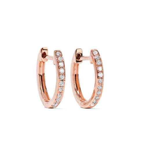 Rose Gold Diamond Earrings. BUY NOW!!! #beverlyhills #beverlyhillsmagazine #bevhillsmag #shop #shopping #jewelry #royal #royalty #royalwedding