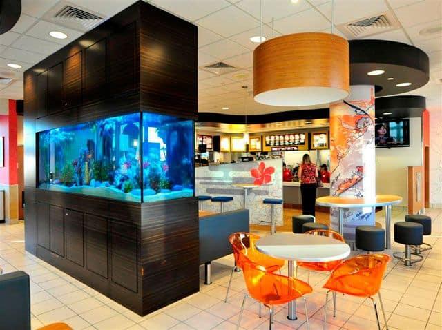 Aquatica custom aquariums beverly hills magazine for Luxury fish tanks