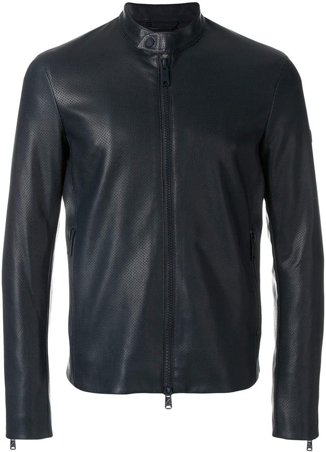 Emporio Armani Leather Jacket For Men. BUY NOW!!!
