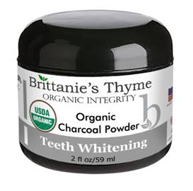 Brittanie Thyme Charcoal Teeth Whitening Powder #beverlyhills #beverlyhillsmagazine #fashion #style #hollywood #holidays #giftguide #holidaygiftsguide #giftideas #gifts