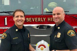 Joseph Matsch Named Deputy Fire Chief #beverlyhills #firefighter #bevhillsmag #beverlyhillsmagazine