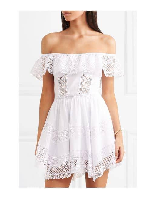 Charo Ruiz Lace Mini #Dress. BUY NOW!!! #beverlyhillsmagazine #beverlyhills #fashion #style #shop #shopping #BEVHILLSMAG