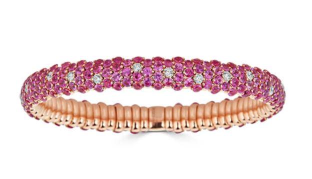 Sapphire & Diamond Bracelet. BUY NOW!!! #jewelry #shop #jewels #bracelet #fashion #style #beverlyhills #beverlyhillsmagazine #bevhillsmag
