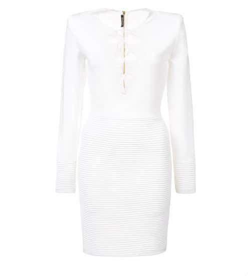 Balmain Mini Dress. BUY NOW!!! #BevHillsMag #beverlyhillsmagazine #fashion #shop #style #shopping