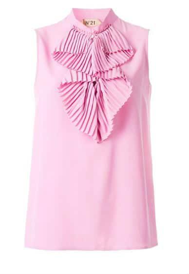 No. 21 Sleeveless Blouse. BUY NOW!!! #BevHillsMag #beverlyhillsmagazine #fashion #shop #style #shopping