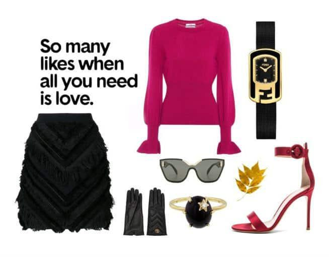 Balmain Fuchsia Style