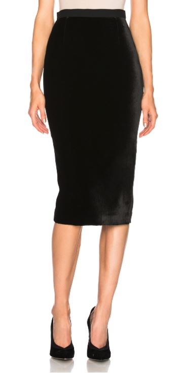 Velvet Pencil Skirt. BUY NOW!!!
