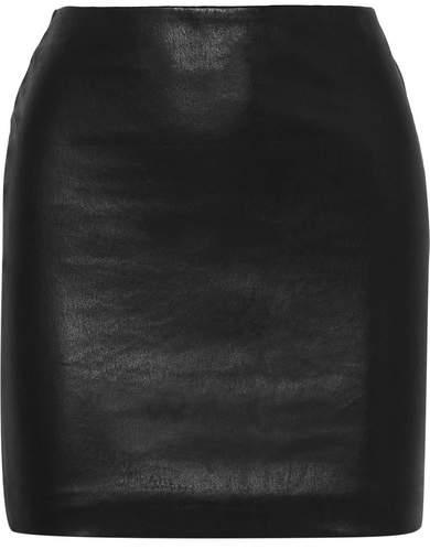 'The Row' Leather Mini Skirt. BUY NOW!!!