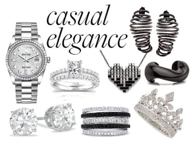 Casual Elegance Diamond Jewelry